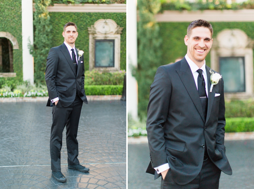 handsome groom belltower on 34th