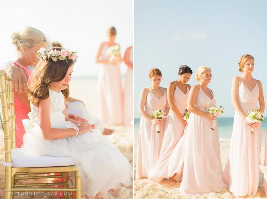 destination beach wedding ceremony prayer