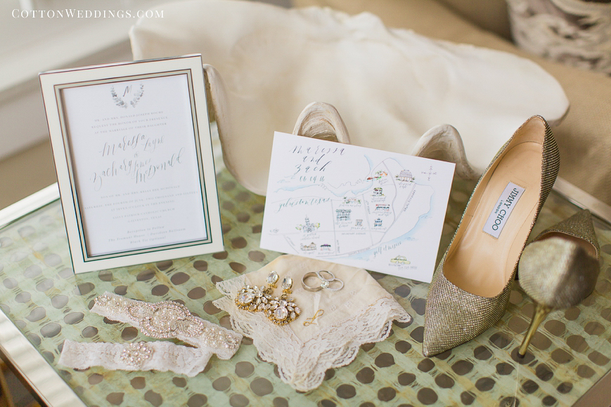 wedding details coastal inspired wedding