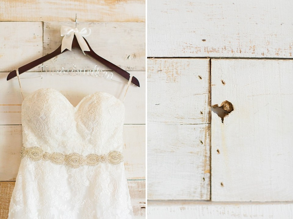 big sky barn wedding dress heart