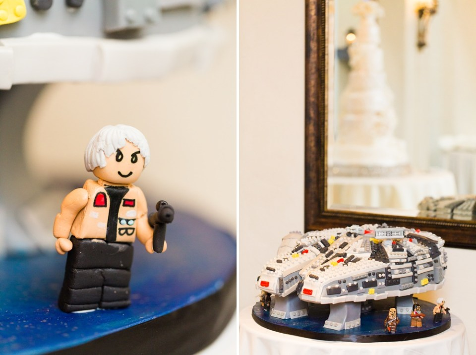 star wars themed groom's cake