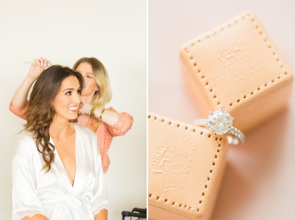 wolf diamond engagement ring