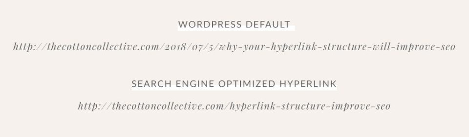 search engine optimized hyperlink structure improve SEO