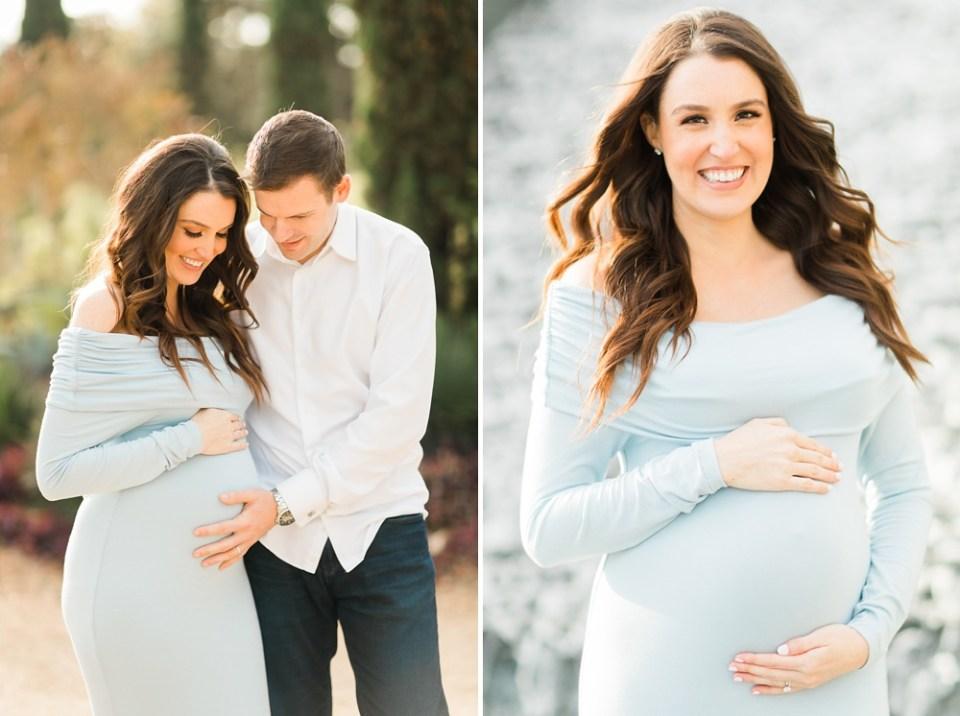 Maternity Photos at Houston's McGovern Centennial Gardens