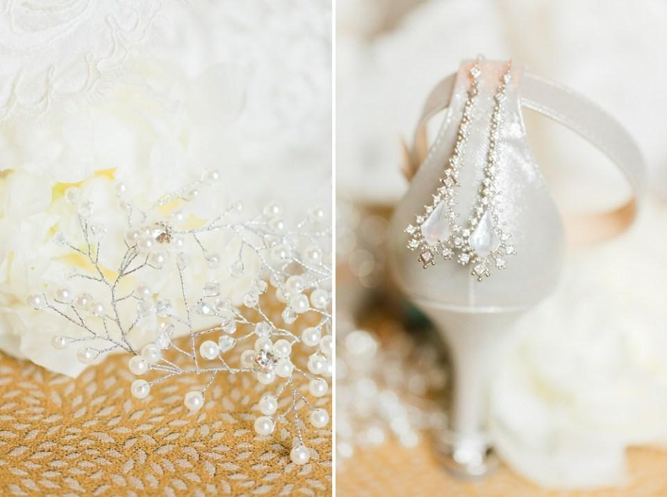 The Corinthian Wedding Shoe Details by Cotton Collective