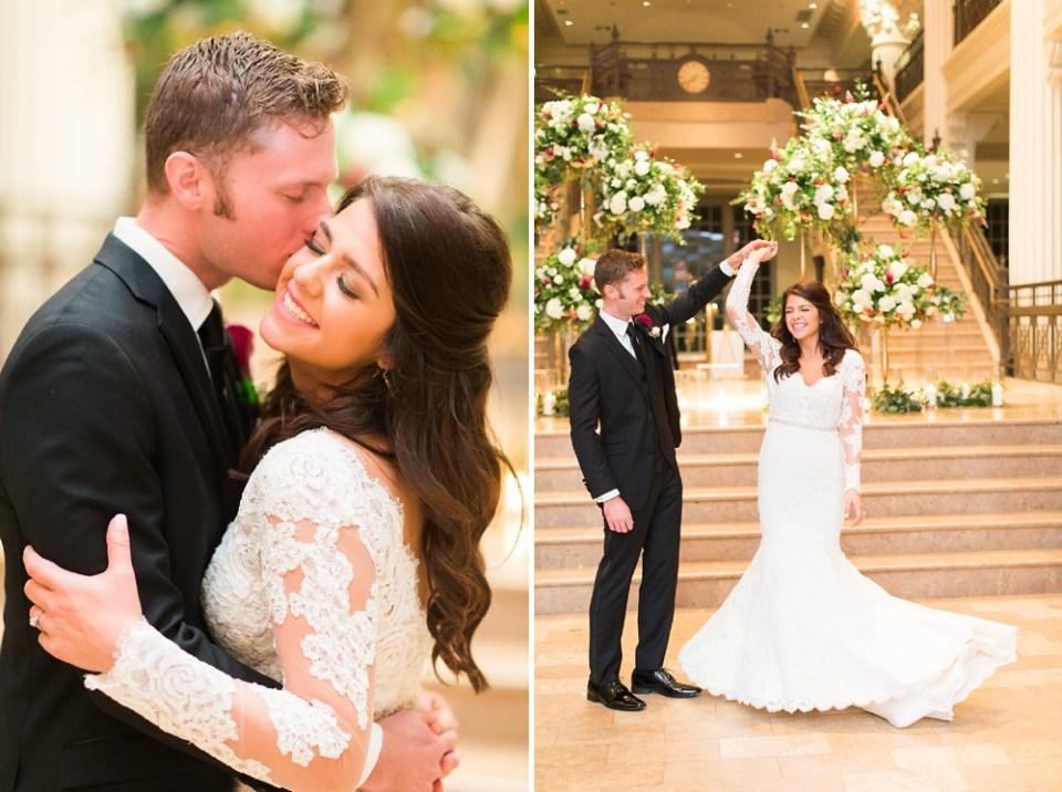 The Corinthian Wedding Houston Couple