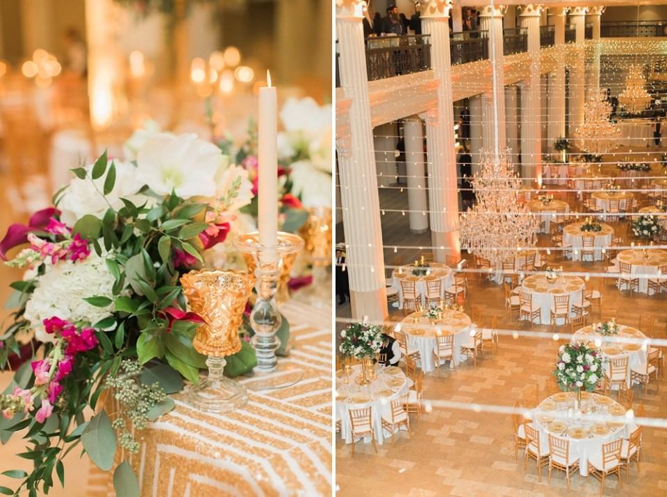 The Corinthian Wedding Reception Details