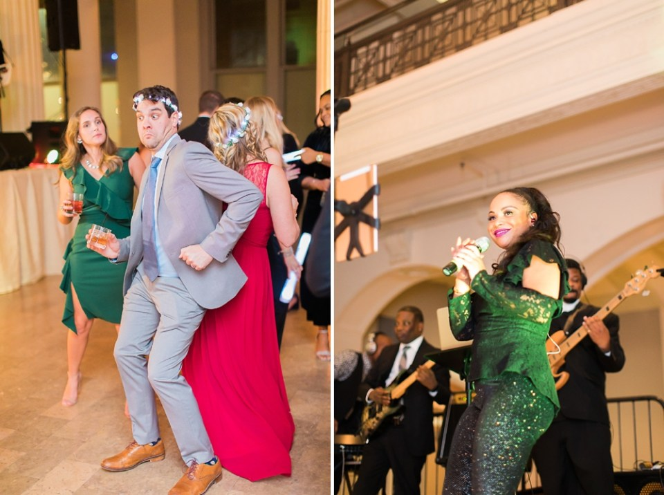 The Corinthian Wedding Houston Dance Reception by Cotton Collective