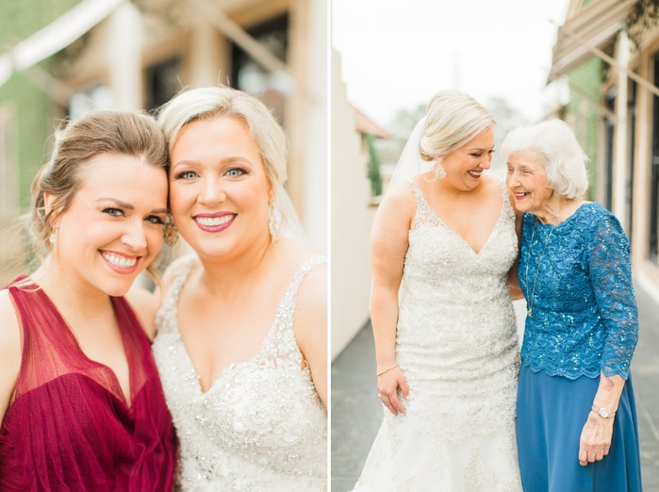 bride and grandmother photos