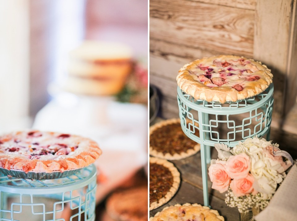 Round Top Wedding Pie