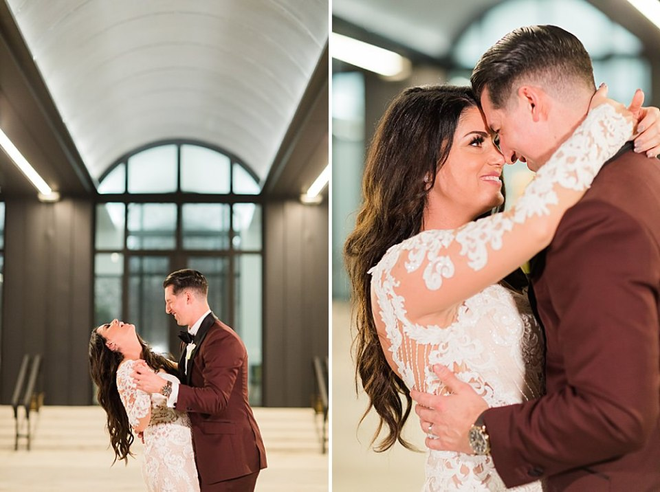bride and groom portraits at the wedding