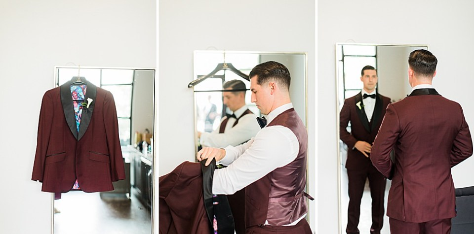 groom getting ready details