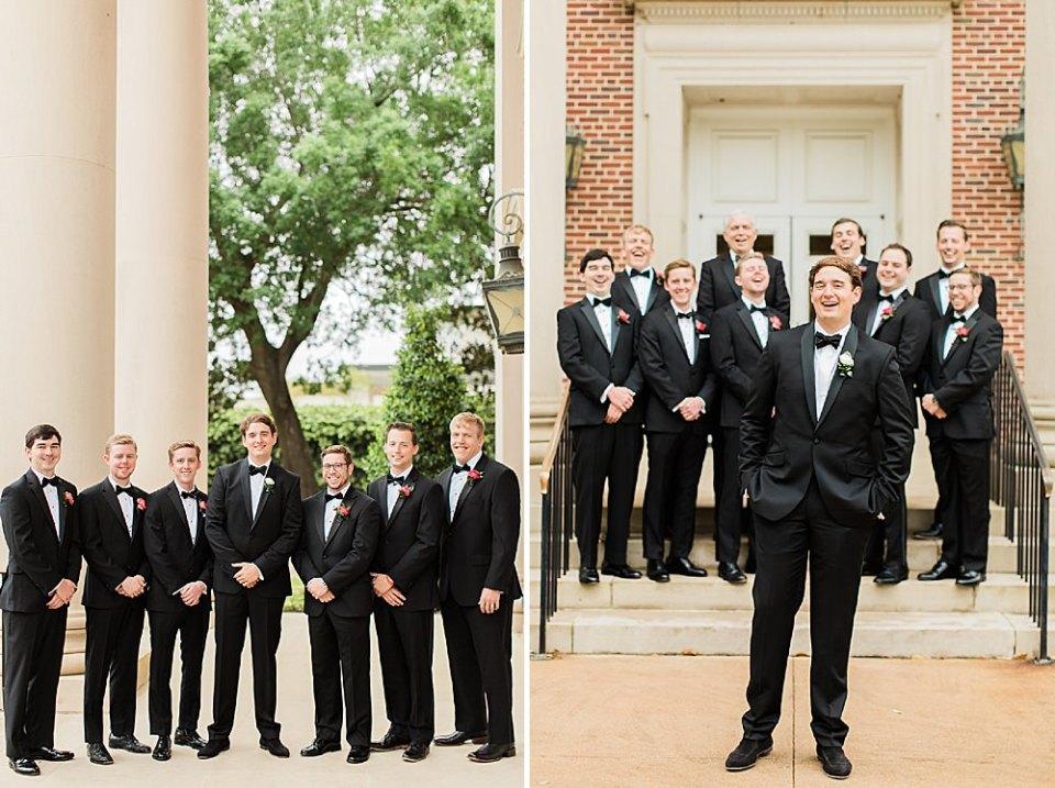 houston groom party