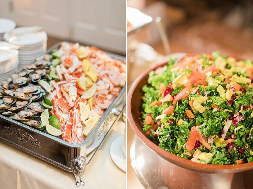 houston wedding food