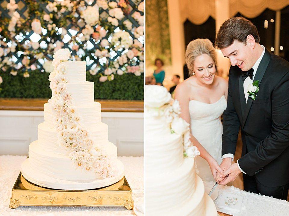 houston bride and groom cake