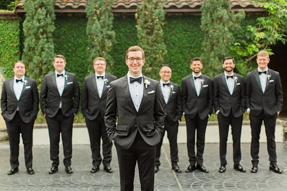 houston groom and groomsmen