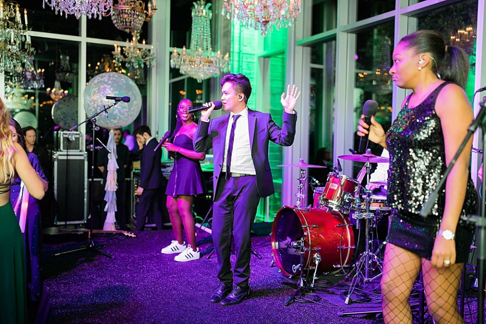 houston wedding reception band