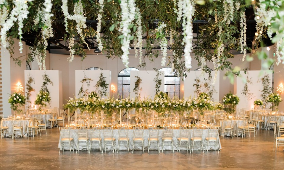 The Revaire Houston Wedding Reception
