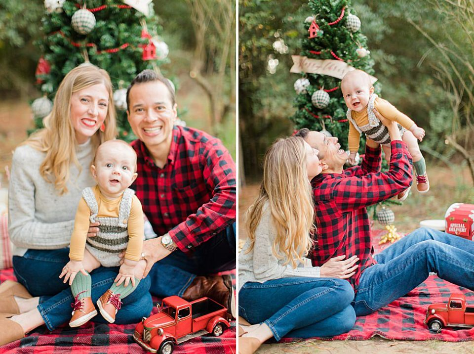 houston family christmas photography