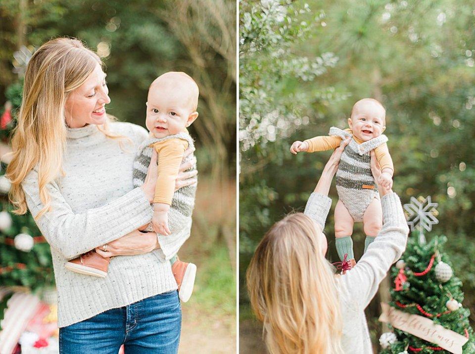 houston family christmas mini