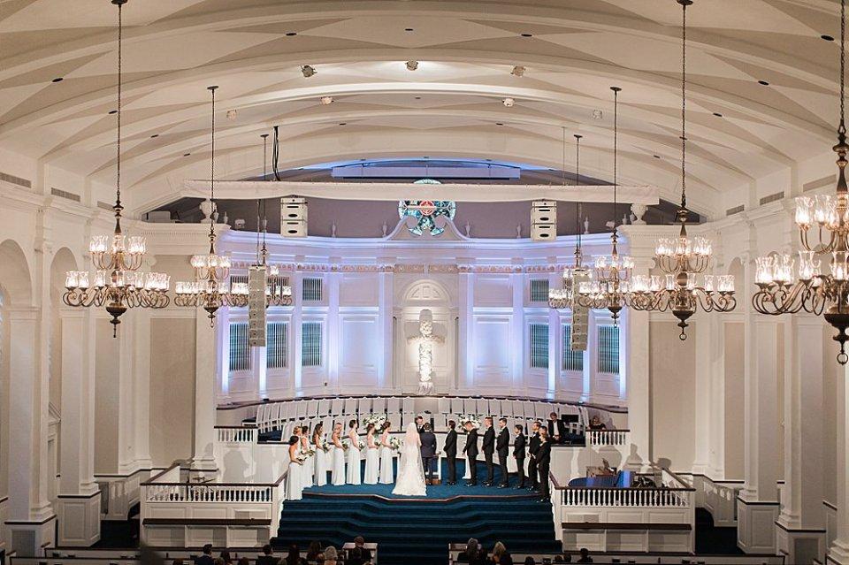 second baptist wedding ceremony