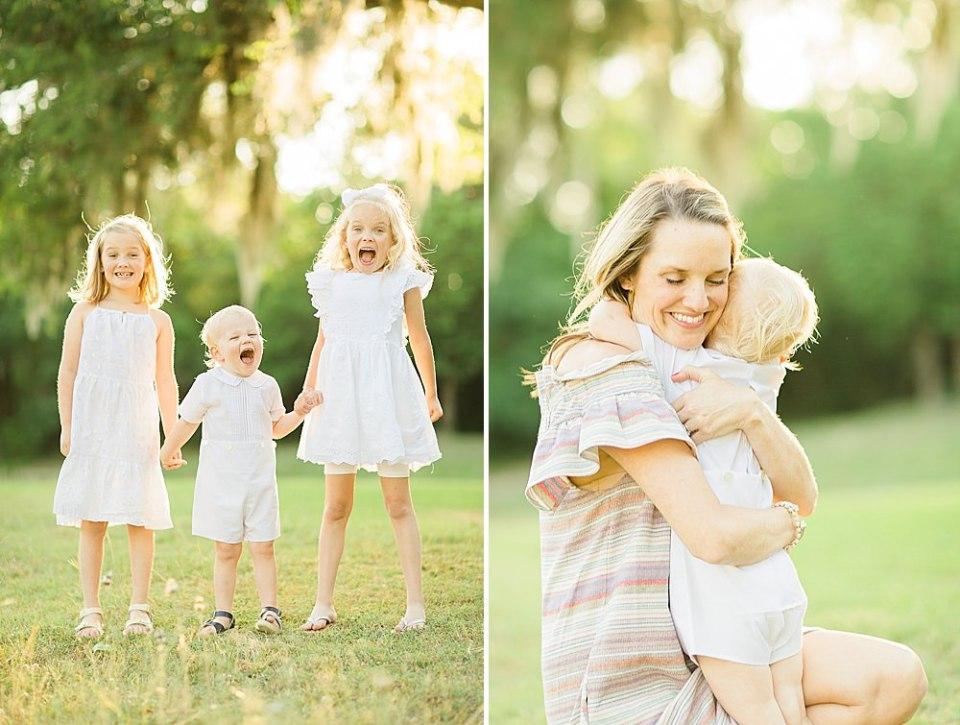 Houston Outdoor Family Photos