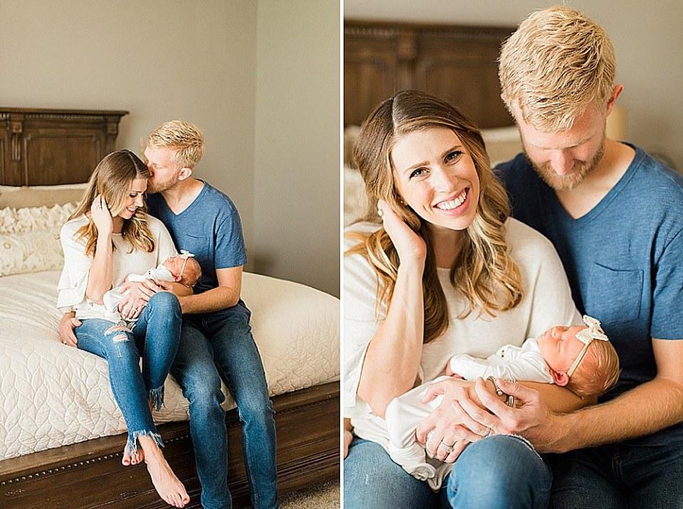 At home newborn photographer houston