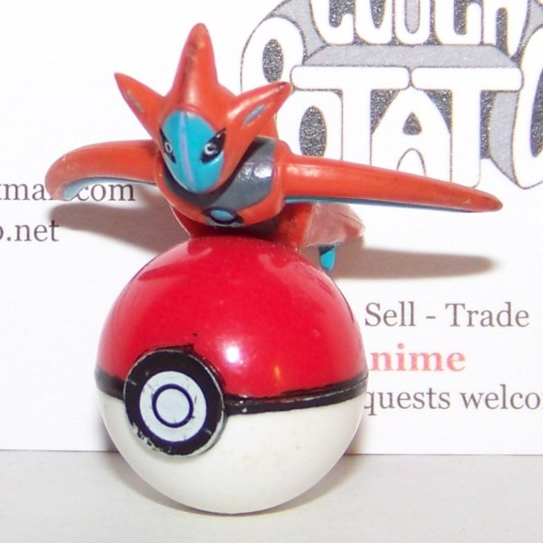 Pokemon Deoxys Speed On Pokeball Figure
