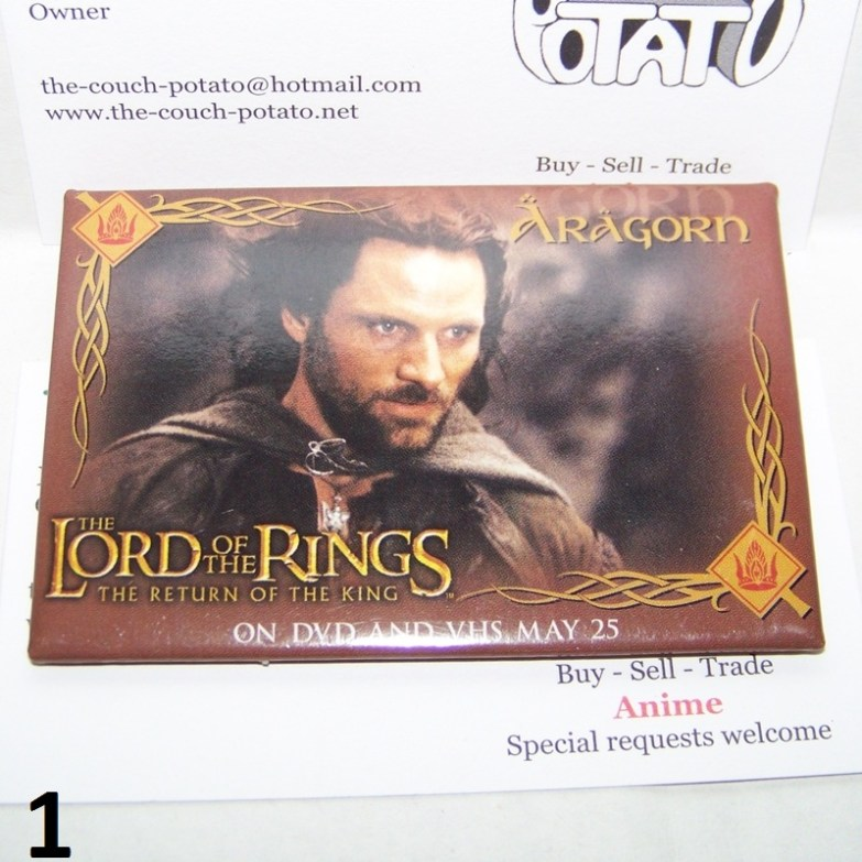 Lord of the Rings Buttons