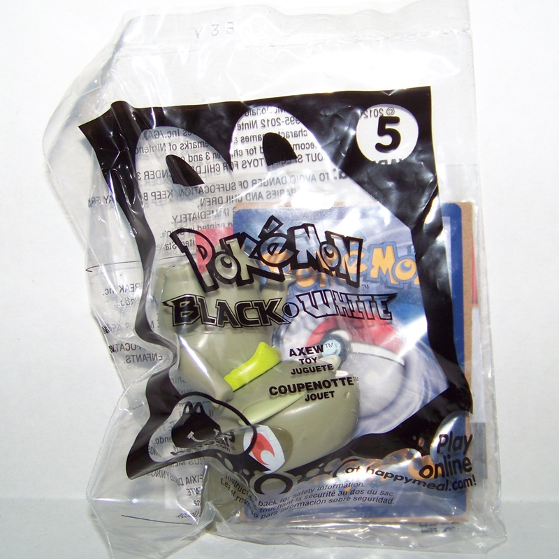 Pokemon Axew McDonalds Toy