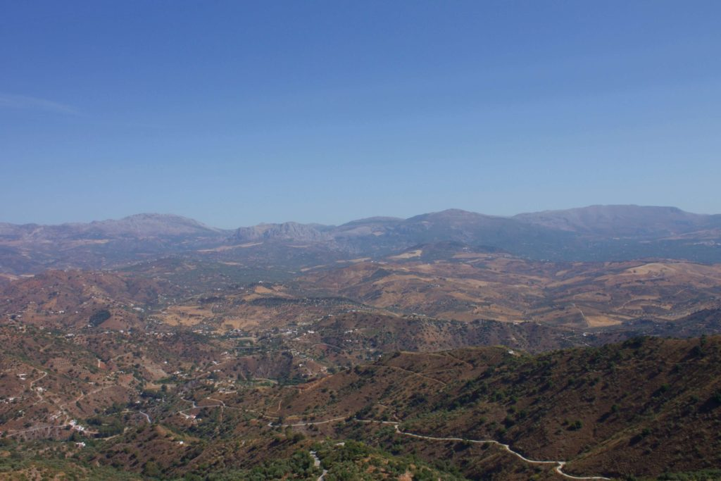 View from Comares
