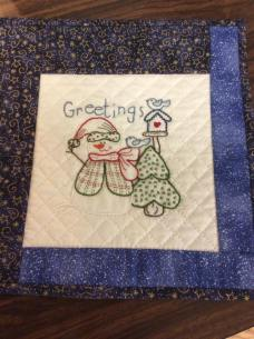 Perfect stitches, by Lynn P!