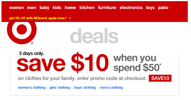 Target Online Coupons