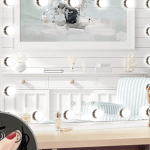 68 Off Large Hollywood Vanity Mirror With Led Lights The Coupon Thang
