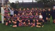 Women's rugby team photo