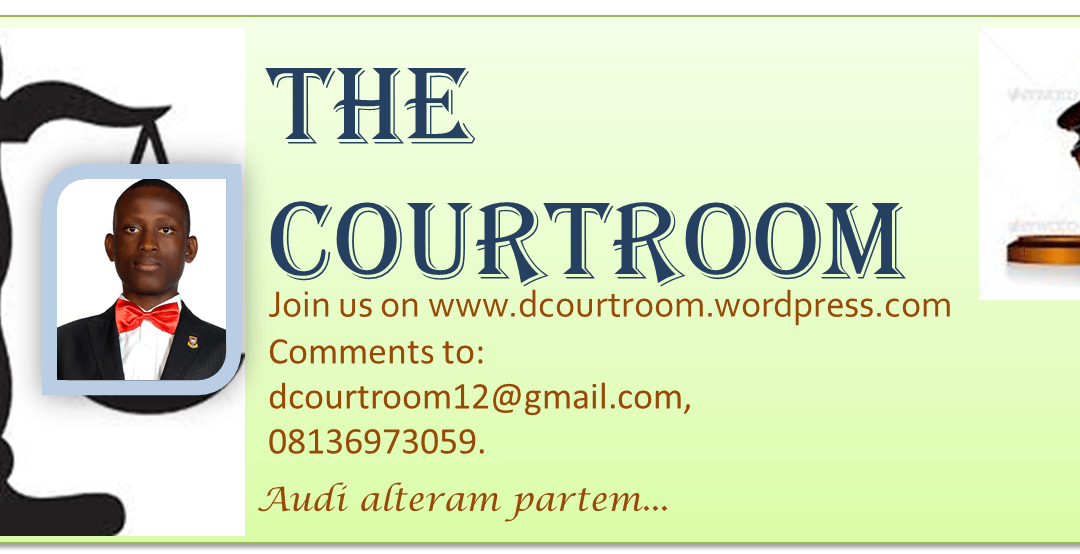 THE COURTROOM – APPRECIATION TO YOU FOR 2013