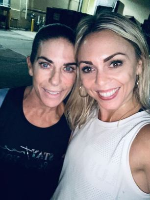 dawn and eva.. typical post gym selife @ the Edge Norwalk. five things friday part 9!