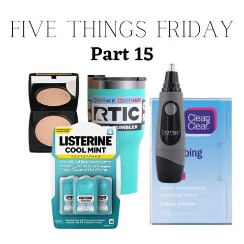 Five Things Friday Part 15!