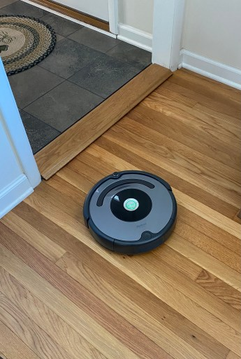 The roomba in action at my house... you can set it and forget it!