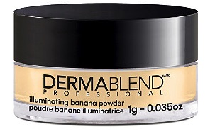 Dermablend banana powder - LOVE THIS for blending & setting make up. Five Things Friday Part 26