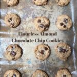 Flourless Almond Chocolate Chip Cookies
