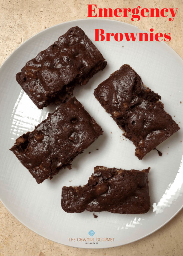 Emergency Brownies