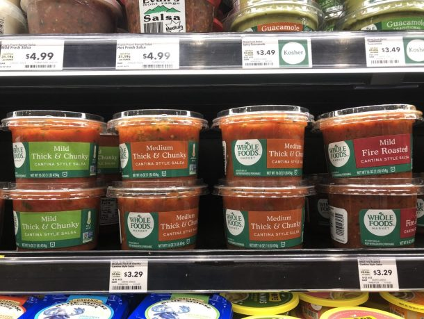 Whole Foods Salsa In store