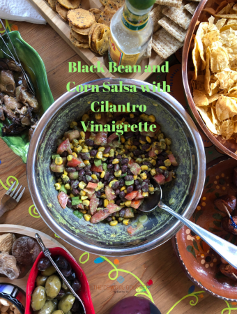 Black Bean and Corn Salsa with Cilantro Vinaigrette Blog