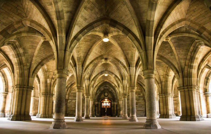 spectacular architecture inside university glasgow main building scotland uk 86125065 - Blogtober:  Coziest places to read in Glasgow