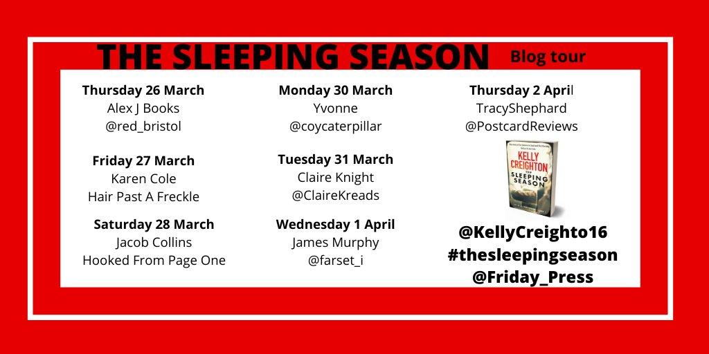 ETdEdCZWoAAWzHg - Blog Tour: The Sleeping Season by Kelly Creighton