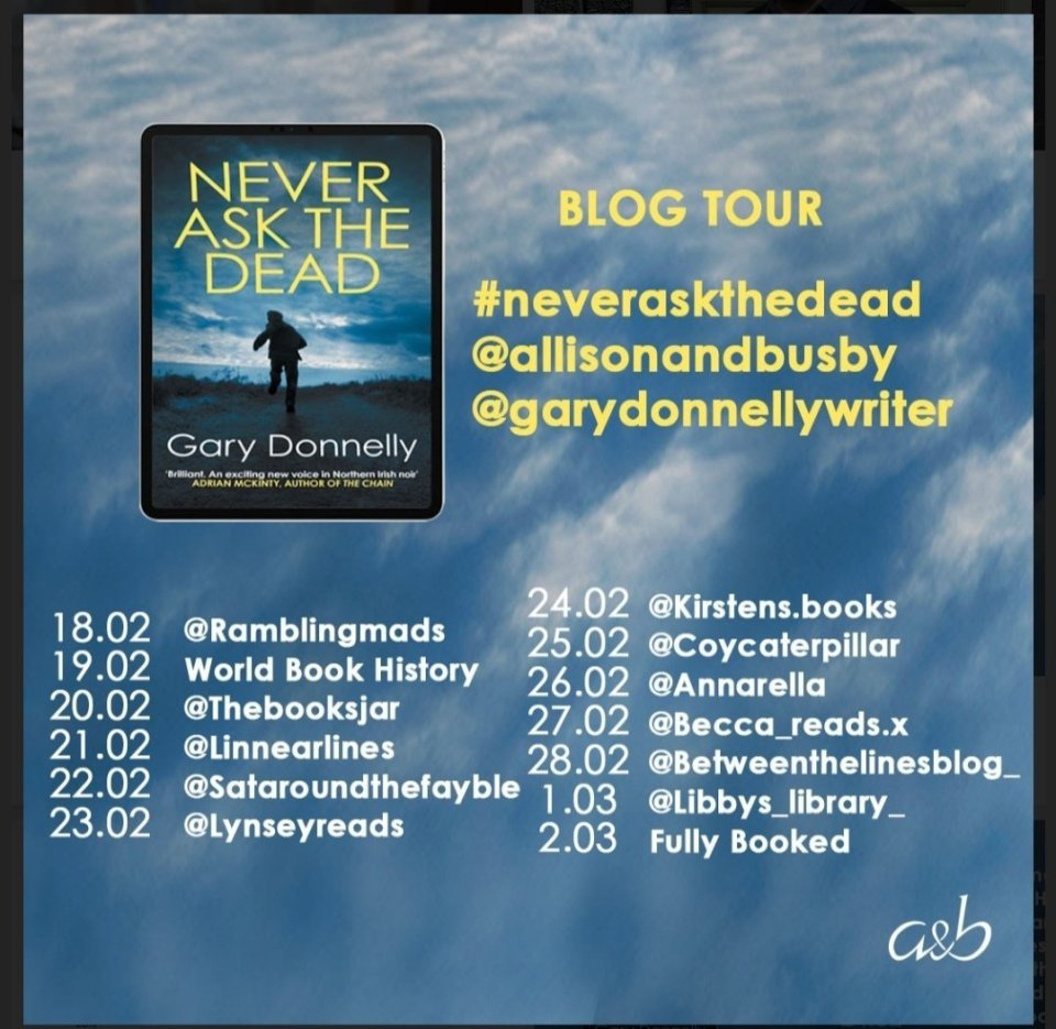 Eufy6xhWgAM4a0G - Never Ask The Dead by Gary Donnelly | Blog Tour Review
