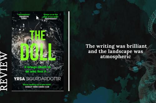 Add a subheading 23 - Review: The Doll by Yrsa Sigurðardóttir