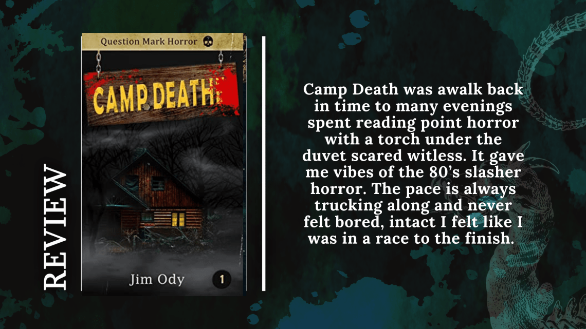 Add a subheading 5 - Blog Tour: Camp Death by Jim Ody