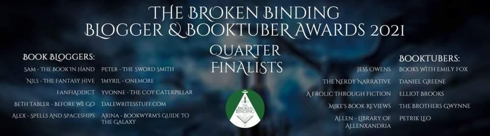 20210930 132848 1024x285 - I Have News...The Broken Binding Blogger & Booktuber Awards 2021